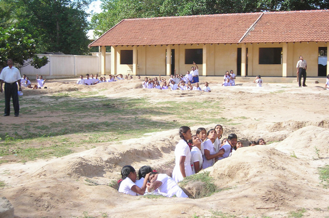 Tamil Children in the Bunkers
