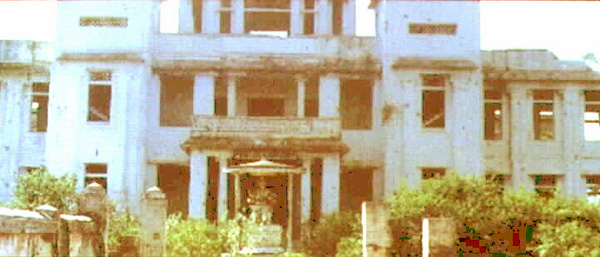 Jaffna Public Library - Burnt Shell