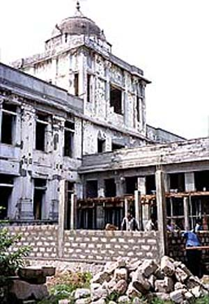 Jaffna Public Library Destroyed