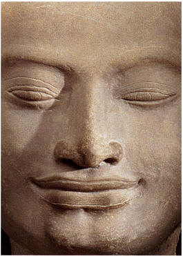 Smile of the Buddha