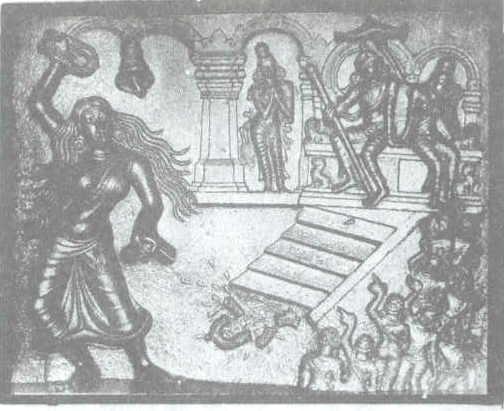 Kannagi in Madurai Court