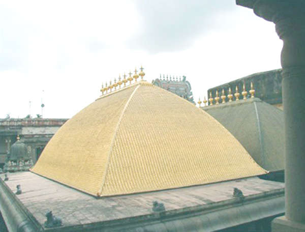 Chidambaram Temple Golden Dome